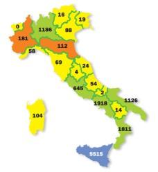 Beni confiscati (Fonte: Libera.it)