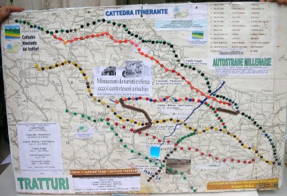 Tratturi -Cattedra itinerante  A.I.G.