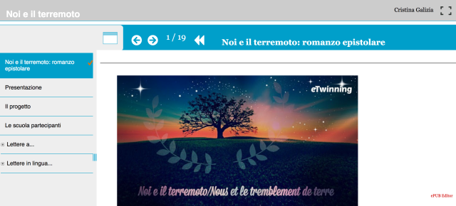 Foto con link all'ebook del romanzo epistolare